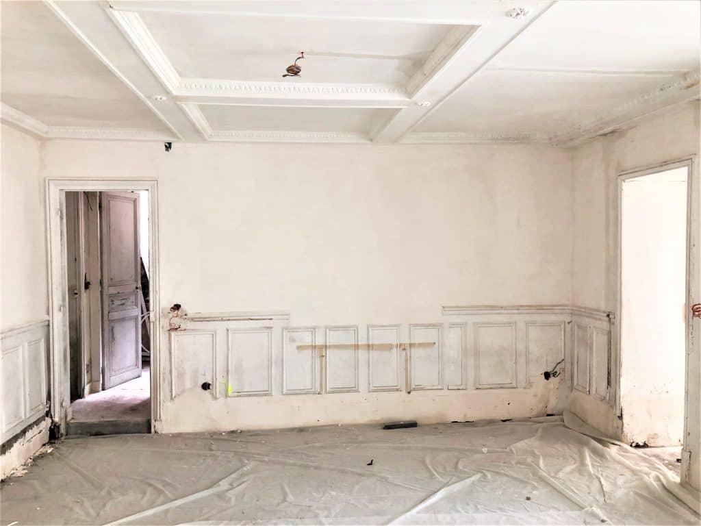 Prix travaux rénovation peinture m2 difficile