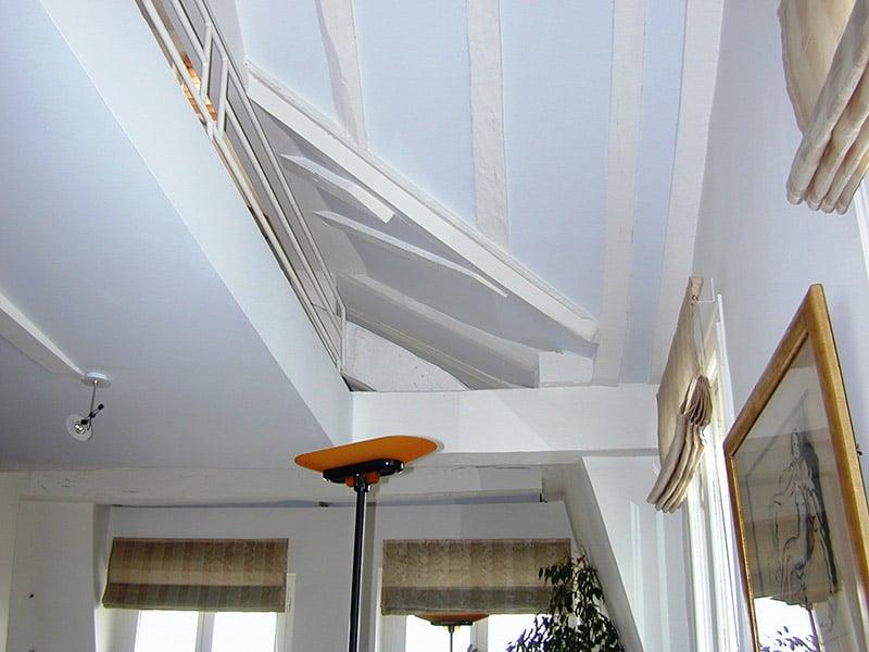 Peindre un plafond sans se fatiguer repeindre un plafond déjà peint