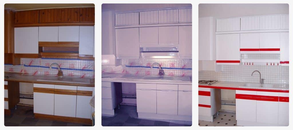 Prix pour rénovation peinture intérieure vieille maison ancienne cuisine rénové